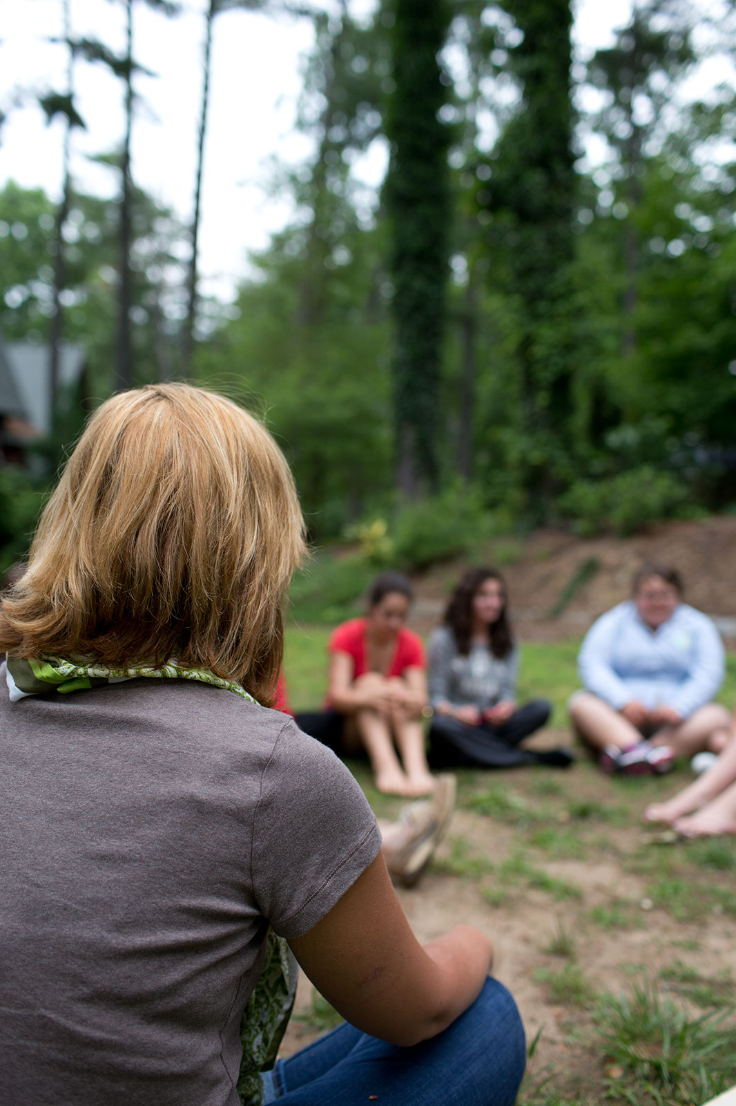 Outdoor group therapy